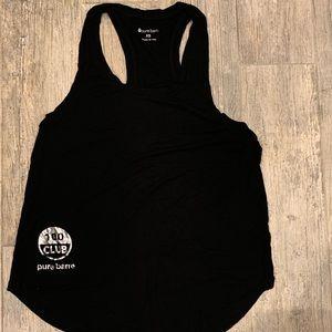 Pure barre black tank top